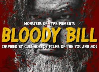 Bloody Bill Font Family