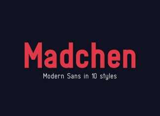 Madchen Font Family