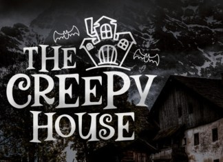The Creepy House Font