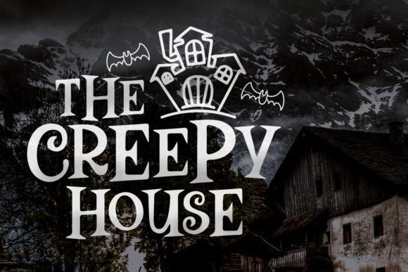 The Creepy House Font