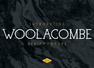 Woolacombe Regular Font