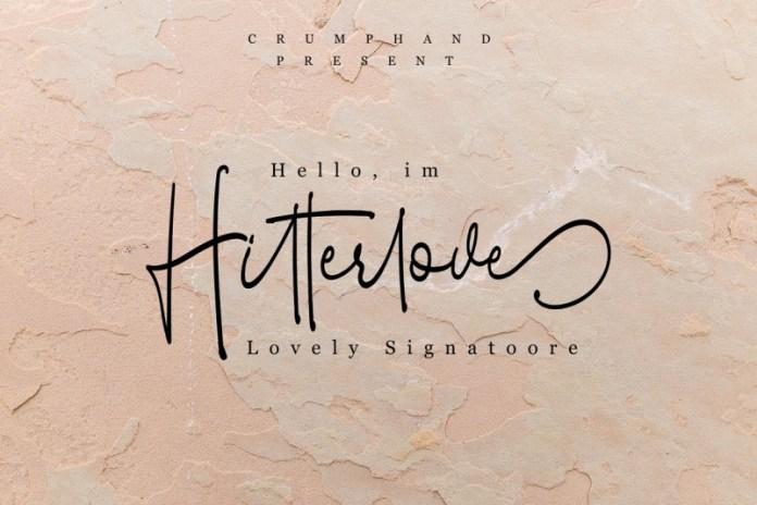 Hitterlove | Lovely Script