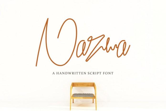 Nazwa Handwritten Font