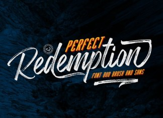 Perfect Redemption - Font Duo+Extras