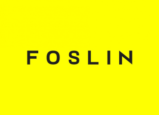 FOSLIN - Minimal Sans-Serif Typeface Font