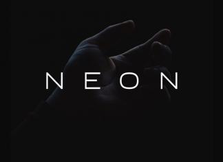NEON - Minimal & Modern Typeface Font