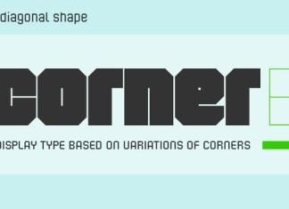 Corner B Font Family