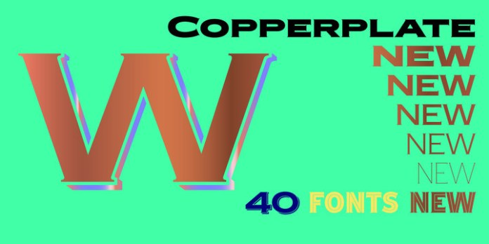 Copperplate New Font Family