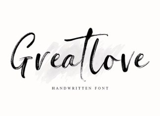 Greatlove Font