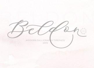 Beldon Script Font