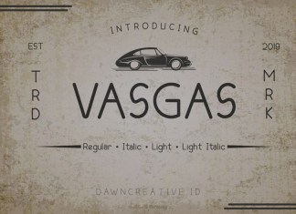 Vasgas Font