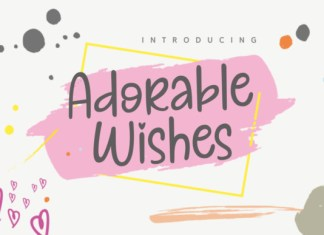 Adorable Wishes Font