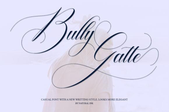 Bully Gatte Font
