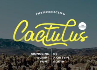 Cactulus Font