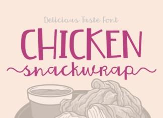Chicken Snackwrap Font