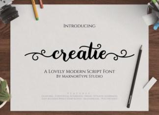 Creatie Font