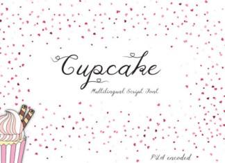 Cupcake Font,Cupcake, Font
