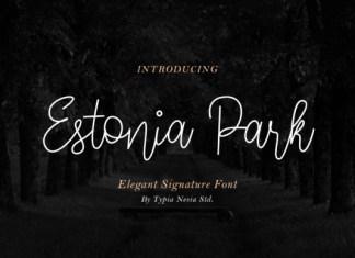 Estonia Park Font