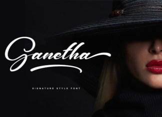 Ganetha Font