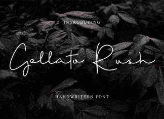 Gellato Rush Font