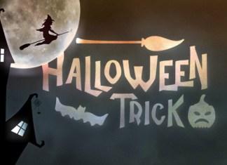 Halloween Trick Font