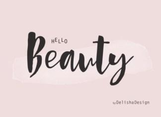 Hello Beauty Font