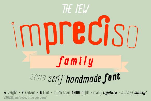 Impreciso Font