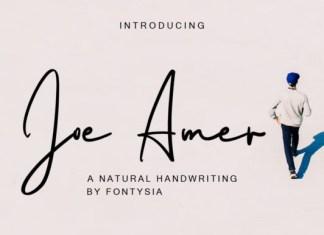 Joe Amer Font