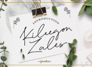 Kileegon Zales Font