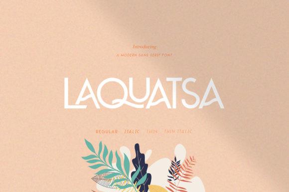 Laquatsa Font