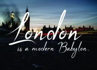 London Road Font