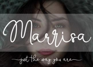 Marrisa Script Font