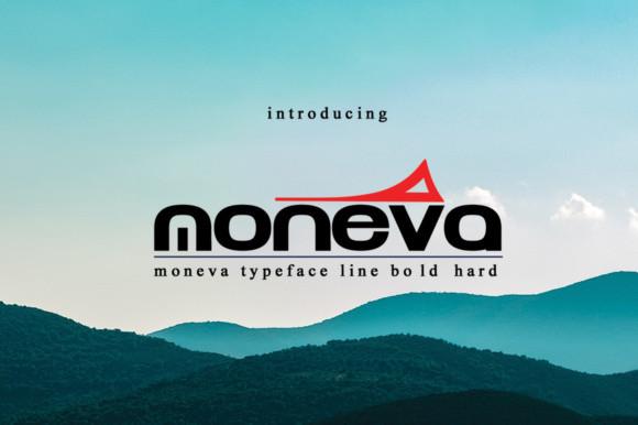 Moneva Font