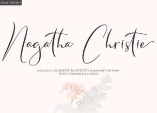 Nagatha Christie Font