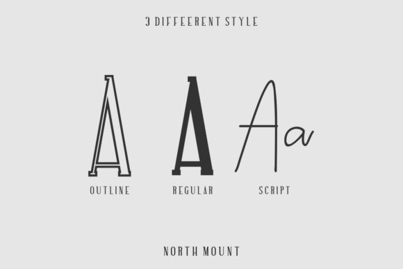 North Mount Family Font