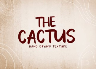 The Cactus Font