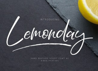 Lemonday Font