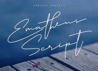 Emathens Script