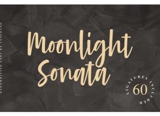 Moonlight Sonata Font