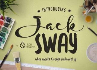 JackSway font