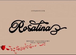 Rosalina Script Font