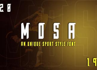 Mosa Sport Font