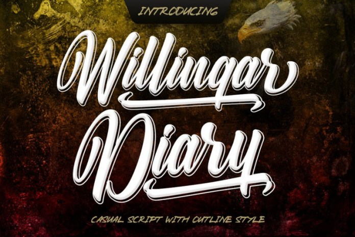 Willingar Diary Font