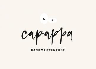 capappa - Handwritten Font