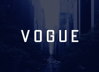 VOGUE - Display / Headline Typeface