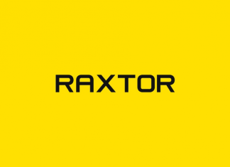 RAXTOR - Display / Headline Typeface