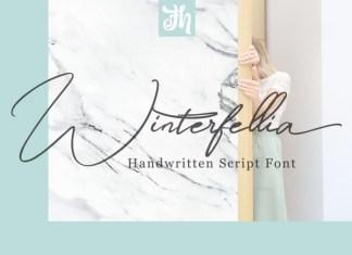 Winterfellia - Handwritten Font