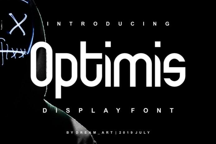 Optimis - Bold Font