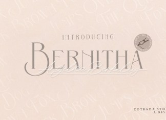 Bernitha Angelica Berkeley DUO FONT