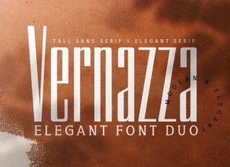 Vernazza Luxury Font Duo & Bonus